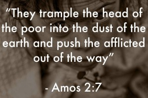 A practical way to not trample on the heads of the poor